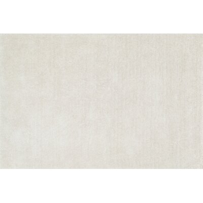 Happy Shag Hand-Tufted Ivory Area Rug Rug Size: 23 x 39