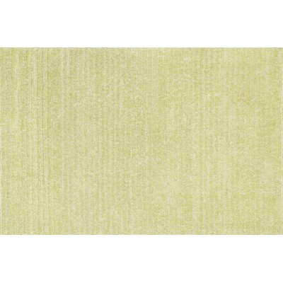 Happy Shag Hand-Tufted Green Area Rug Rug Size: 23 x 39