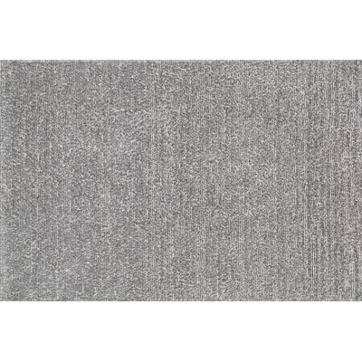 Happy Shag Hand-Tufted Gray Area Rug Rug Size: 36 x 56