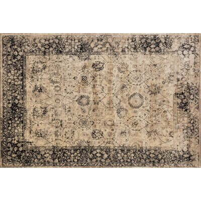 Keever Beige Area Rug Rug Size: Rectangle 92 x 122