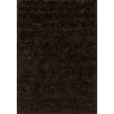Chobanyan Hand-Woven Brown Area Rug Rug Size: Rectangle 76 x 96