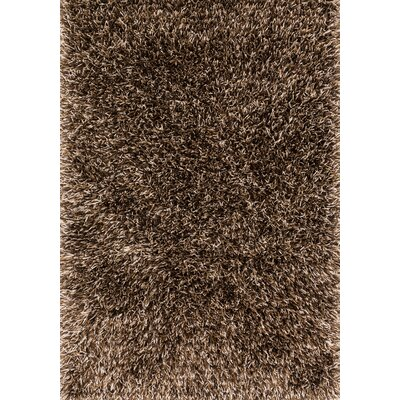 Chobanyan Hand-Tufted Brown/Beige Area Rug Rug Size: Rectangle 76 x 96