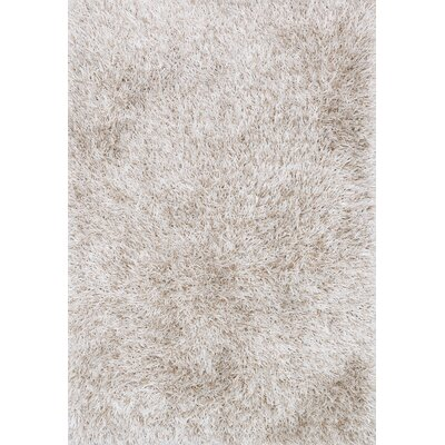 Kerstanski Hand-Woven Bone Area Rug Rug Size: Rectangle 76 x 96