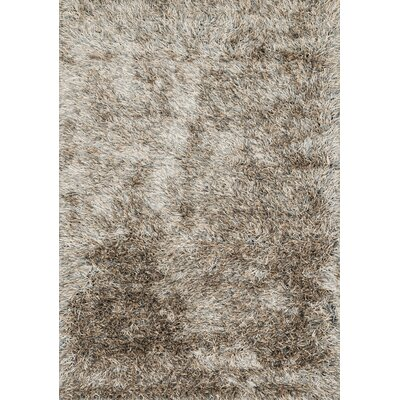 Chobanyan Hand-Woven Brown Area Rug Rug Size: Rectangle 36 x 56