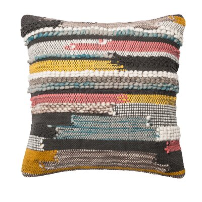 Irvine Textured Throw Pillow