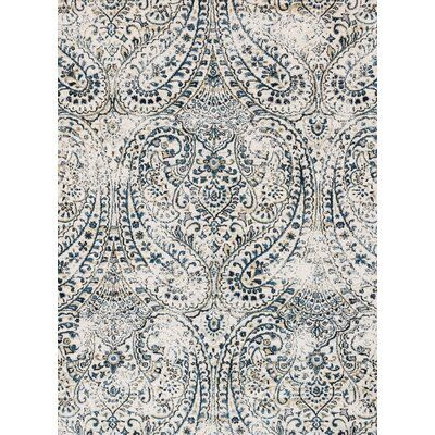 Jude Ivory Rug Size: Rectangle 2'7