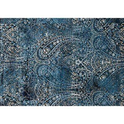 Jude Cobalt Rug Rug Size: Rectangle 5 x 76