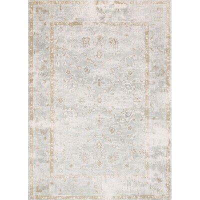 Torrance Gray Area Rug Rug Size: 39 x 59