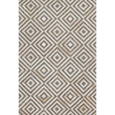 Winnett Hand-Woven Taupe / Sand Area Rug Rug Size: Rectangle 93 x 13
