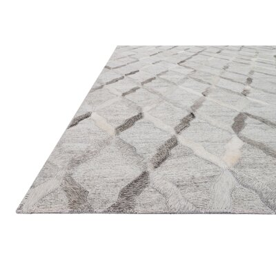 Winnett Hand-Woven Gray Area Rug Rug Size: Runner 26 x 8