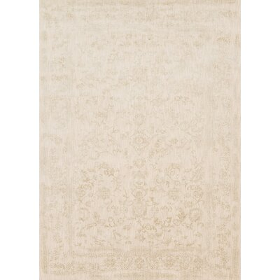 Florence Ivory Area Rug Rug Size: Rectangle 27 x 4
