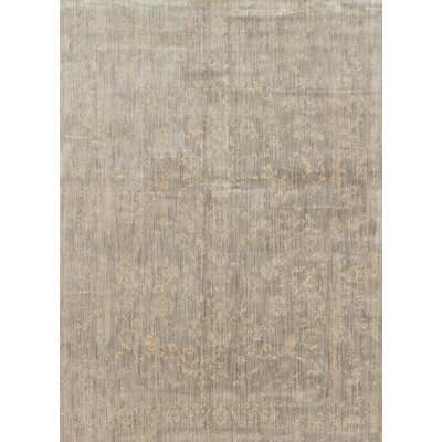 Florence Stone/Ivory Area Rug Rug Size: Rectangle 710 x 1010