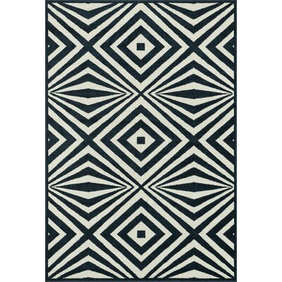 Winifred Navy/Ivory Indoor/Outdoor Area Rug Rug Size: Rectangle 92 x 121