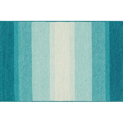 Garrett Blue Indoor/Outdoor Area Rug Rug Size: 23 x 39