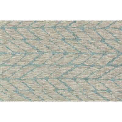 Bundy Mist/Aqua Indoor/Outdoor Area Rug Rug Size: Rectangle 22 x 39