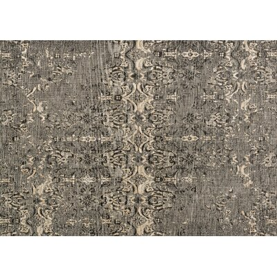 Izmir Charcoal Area Rug Rug Size: 10 x 13