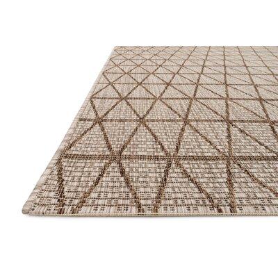 Beige/Mocha Indoor/Outdoor Area Rug Rug Size: 710 x 109