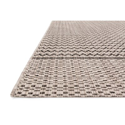 Isle Gray Indoor/Outdoor Area Rug Rug Size: 3'11