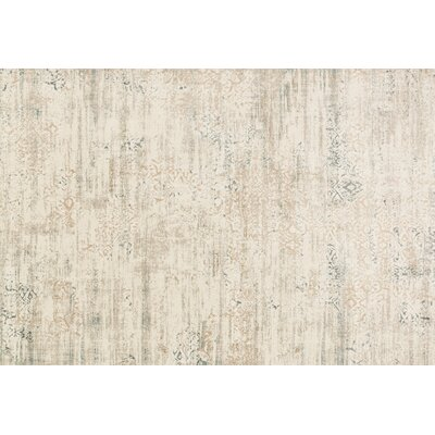 Kingston Ivory Area Rug Rug Size: 27 x 10