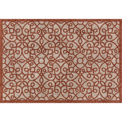 Newport Spice Indoor/Outdoor Area Rug Rug Size: 22 x 39