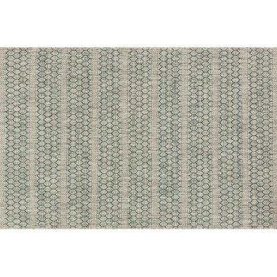 Isle Gray/Teal Indoor/Outdoor Area Rug Rug Size: 53 x 77