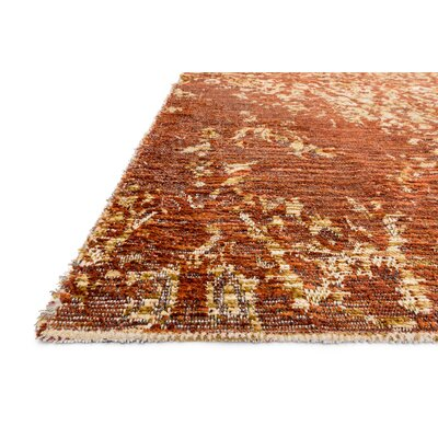 Izmir Spice/Gold Area Rug Rug Size: Rectangle 53 x 76