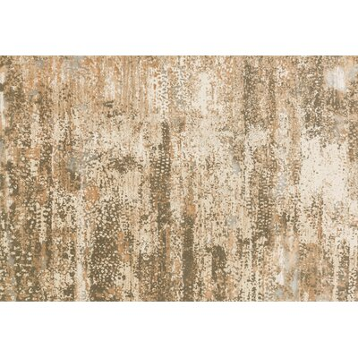 Abella Ivory Area Rug Rug Size: Rectangle 53 x 76