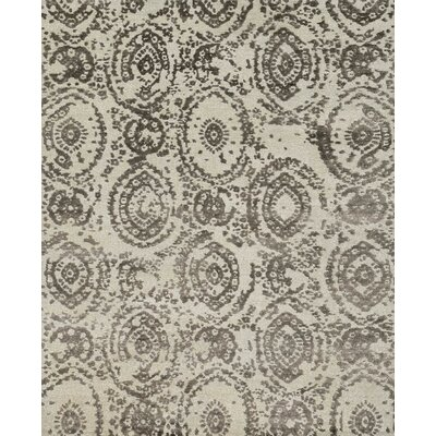Abramo Hand-Woven Silver/Mocha Area Rug
