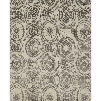 Cyrus Hand-Woven Silver/Mocha Area Rug