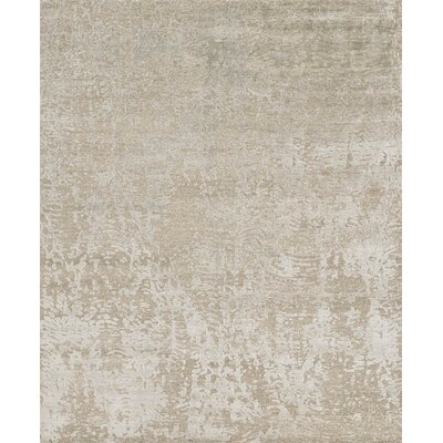 Cyrus Hand-Knotted Beige Area Rug