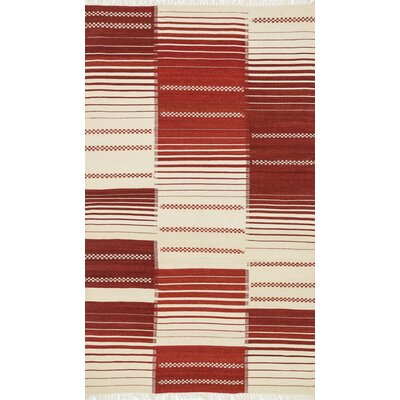 Rio Hand-Woven Red Area Rug