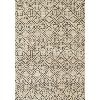 Palumbo Hand-Knotted Sand Area Rug