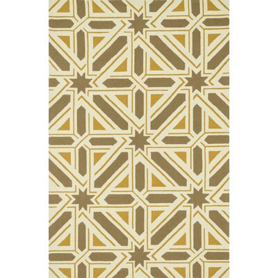 Palm Springs Hand-Woven Taupe/Gold Area Rug