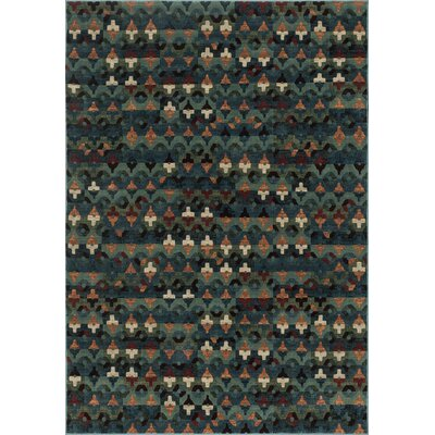 Vista Blue/Brown Area Rug