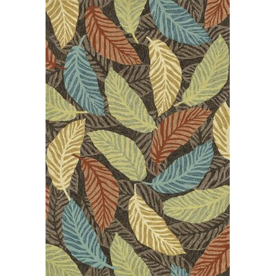 Tropez Hand-Woven Brown Indoor/Outdoor Area Rug
