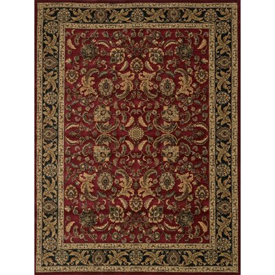 Stanley Red Area Rug