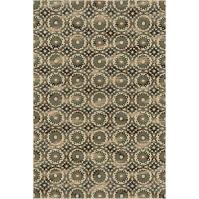 Vista Ivory/Blue Area Rug