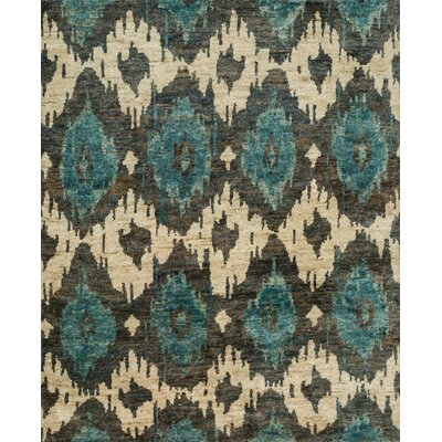 Xavier Hand-Knotted Midnight Area Rug