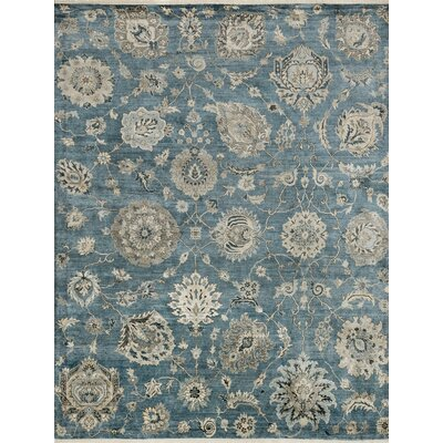 Kensington Hand-Knotted Storm Area Rug
