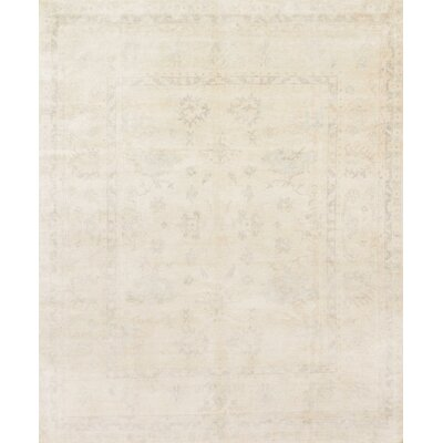 Pierce Hand-Knotted Mist Area Rug