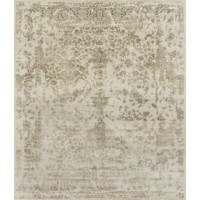 Colson Hand-Knotted Heather Gray/Storm Area Rug