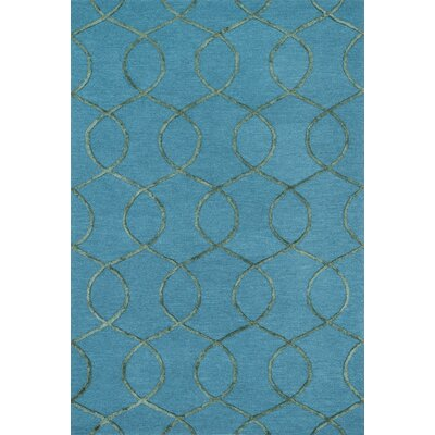 Panache Hand-Tufted Ocean/Green Area Rug