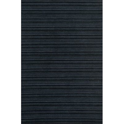 Kirksey Hand-Tufted Midnight Area Rug