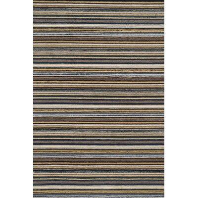 Kirksey Hand-Tufted Gray Area Rug