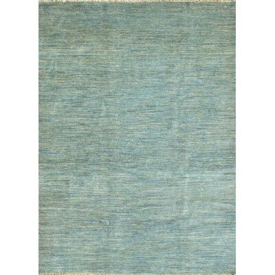 Transo Hand-Knotted Blue Area Rug