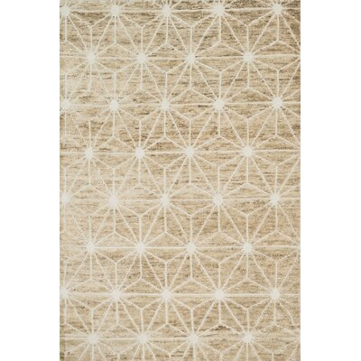 Palumbo Hand-Knotted Ivory Area Rug