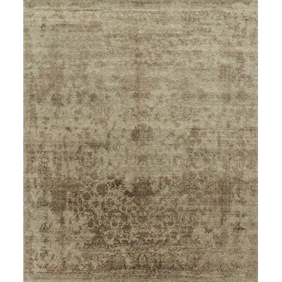 Pearl Hand-Knotted Desert/Brown Area Rug
