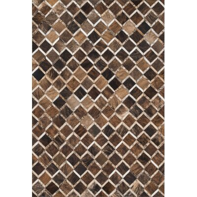 Murtaz Handmade Brown Area Rug