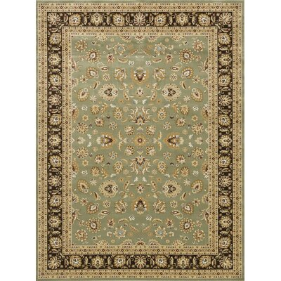 Kirkman Sage/Coffee Area Rug