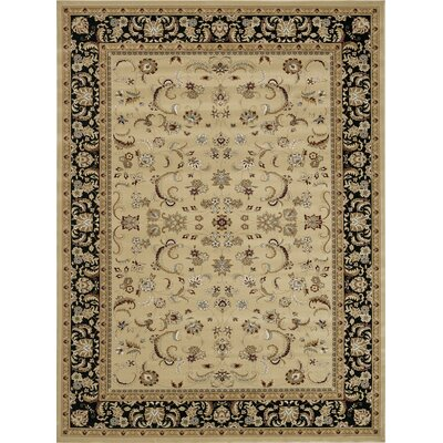 Welbourne Beige/Black Area Rug